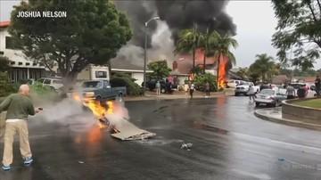 Samolot uderzył w dom. Nie żyje pięć osób