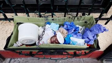 """Zero waste w czasie pandemii. """"Rękawiczki wyrzucamy do odpadów zmieszanych"""""""