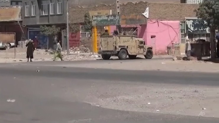 Afganistan. Talibowie przejęli kolejne miasto. UE wzywa ich do zaprzestania przemocy