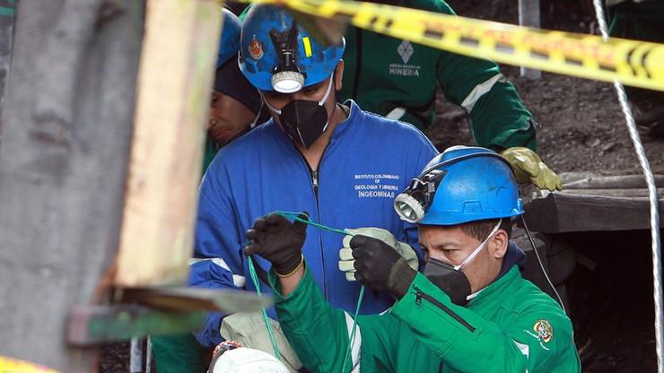 Eksplozja metanu w kolumbijskiej kopalni. Kilkanaście osób nie żyje