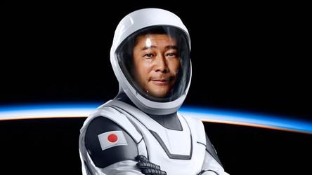 Pierwszy człowiek, który obleci Księżyc ze SpaceX, rusza do kosmicznego domu