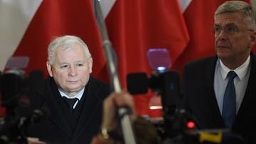 """""""Zaczynamy posiedzenie Sejmu na sali plenarnej"""". Kaczyński po spotkaniu liderów"""