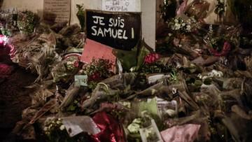 Morderstwo nauczyciela we Francji. Uczniowie pomogli zabójcy