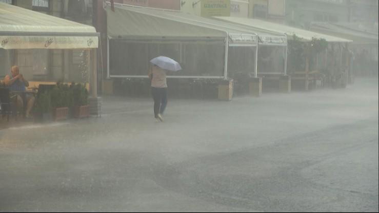Ciągle pada... I tak ma być przez całą niedzielę