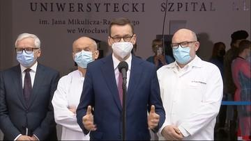 Premier: Polska przynagla KE, aby przybyło do nas jak najwięcej szczepionek