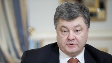 Poroszenko zapowiada wzmocnienie wojsk w pobliżu Krymu i Donbasu