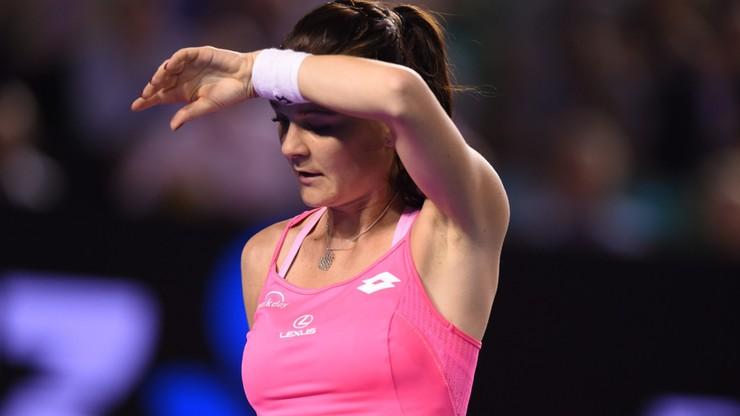 Agnieszka Radwańska odpadła z Australian Open