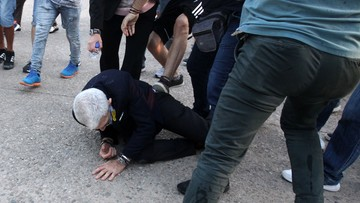 Brutalny atak na burmistrza Salonik. W sprawie zatrzymano czterech mężczyzn