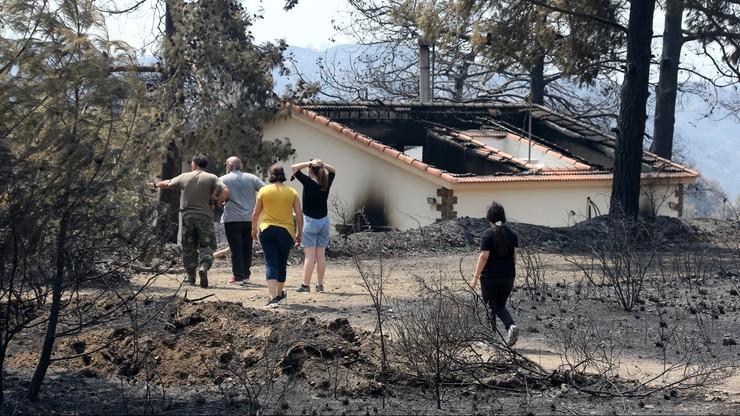 Cypr. Ogromny pożar opanowany, władze liczą straty
