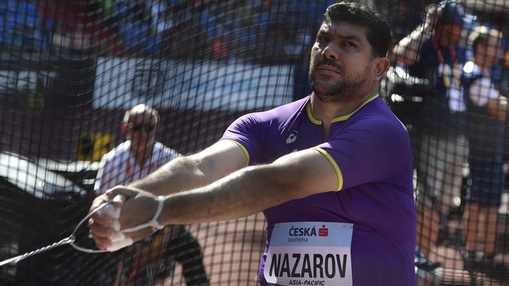 MŚ Doha 2019: Nazarow zawieszony za doping