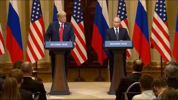 """""""Nie udało się usunąć wszystkich przeszkód, ale to pierwszy krok"""". Szczyt Putin-Trump w Helsinkach"""
