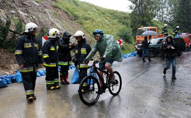 Tour de Pologne: ekstremalny etap