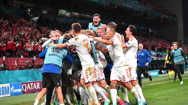 Euro 2020. Duńskie media: Stadion Parken oszalał