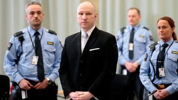 Norwegia: będzie apelacja od korzystnego wyroku dla Breivika