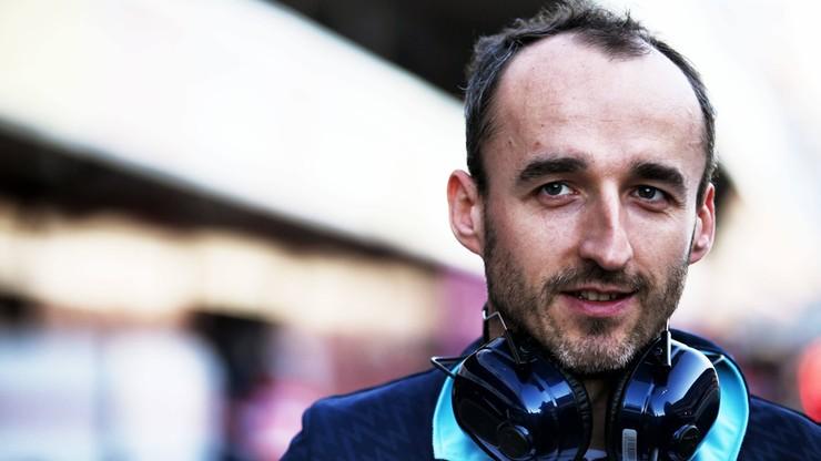 Formuła 1: Kubica znowu szybszy od kolegów z Williamsa
