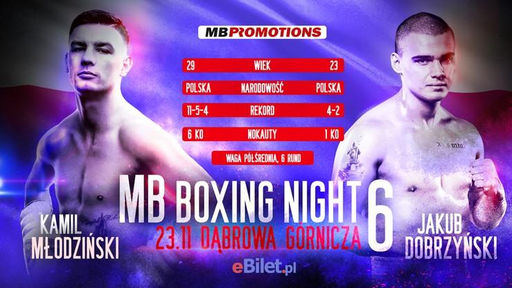MB Boxing Night 6: Walka o... wszystko? Pojedynek na otwarcie wylądował w rozpisce
