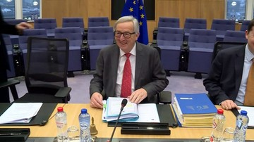 Juncker przeciw sankcjom budżetowym dla nieprzyjmujących uchodźców