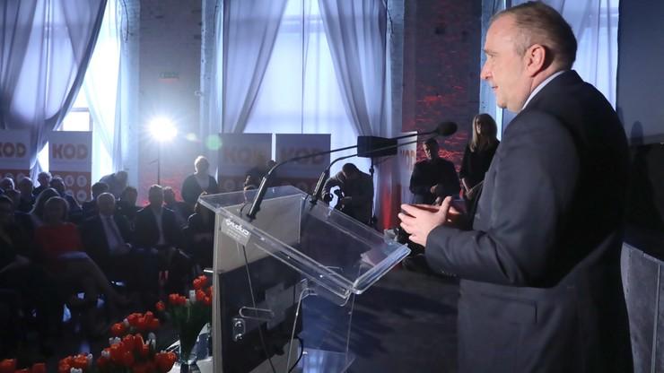 Schetyna: kłamstwo i manipulacja będzie główną osią kampanii wyborczej PiS