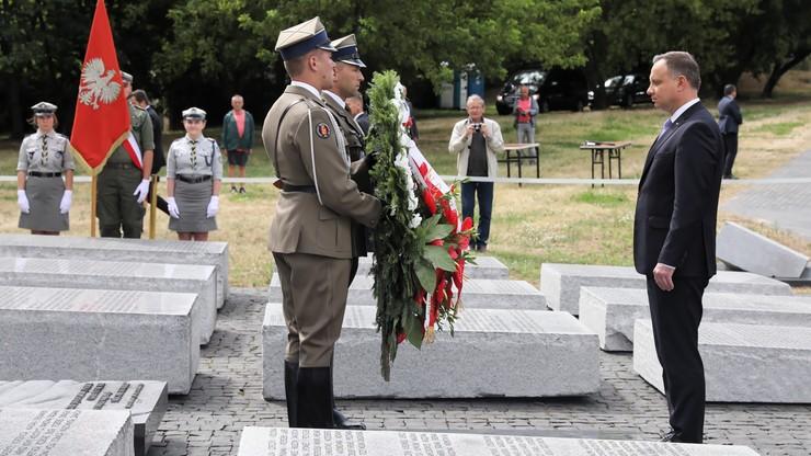 Narodowy Dzień Pamięci Ofiar Ludobójstwa. Prezydent Duda oddał hołd ofiarom