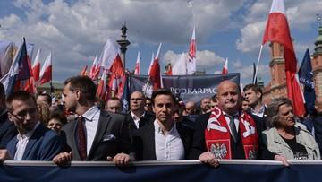 """Marsz Suwerenności w Warszawie. """"PiS, PO jedno zło"""""""