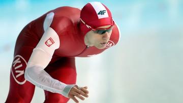 PŚ w łyżwiarstwie szybkim: Piotr Michalski tuż za podium w Heerenveen