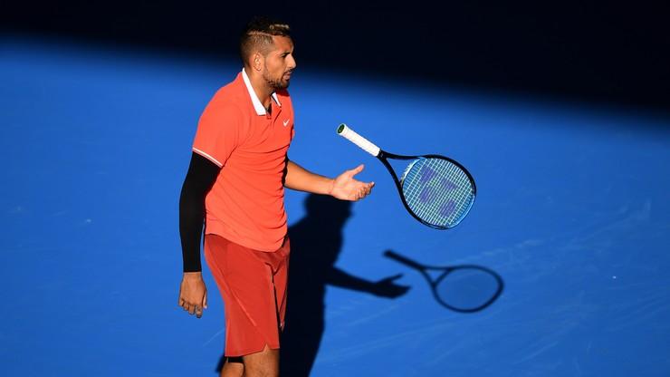 ATP w Brisbane: Odpadł broniący tytułu Kyrgios
