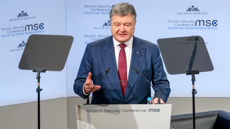 """Poroszenko wyraża zaniepokojenie w związku z nowelizacją ustawy o IPN. """"Martwi nie tylko Ukraińców"""""""