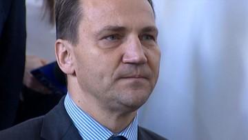 Sikorski: prezes Kaczyński jest wrednym dziadygą