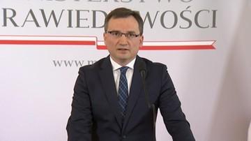 """""""Wyszli bardzo zadowoleni"""". Woś o spotkaniu w """"cztery oczy"""" Morawiecki-Ziobro"""