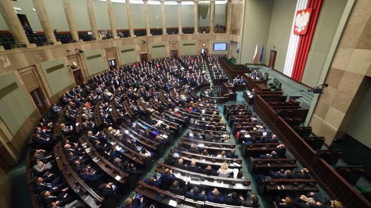 Sejm wznowił swoje posiedzenie inauguracyjne
