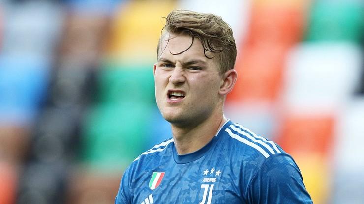 Serie A: Matthijs De Ligt zakażony koronawirusem