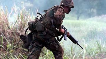 Żołnierze nielegalnie ćwiczą w rezerwacie przyrody na Karaibach