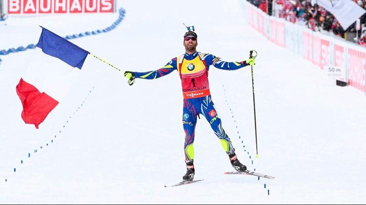 Fourcade z trzecim złotym medalem MŚ!