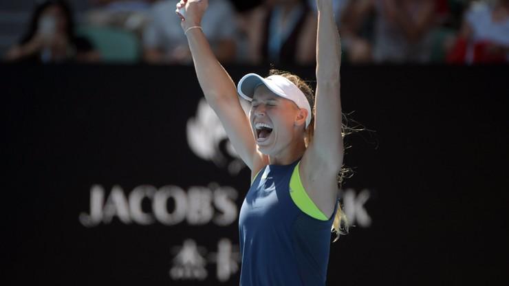 Australian Open: Woźniacka pierwszą finalistką!