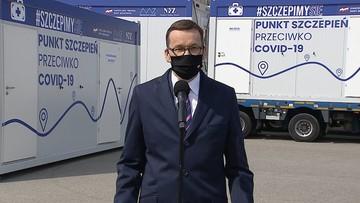 """""""Ruszamy w Polskę"""". Możliwe szczepienia bez rejestracji"""