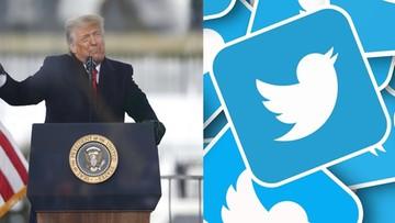 Twitter i Facebook zablokowały konto Trumpa