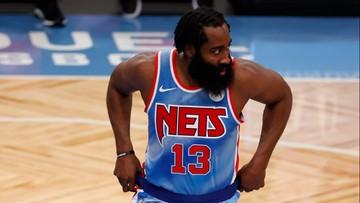 NBA: Wymarzony debiut Jamesa Hardena w Brooklyn Nets