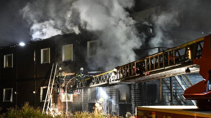 Pożar w sztokholmskim ośrodku dla uchodźców. Ewakuowano 40 osób
