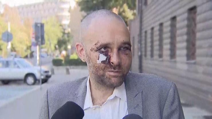 Mężczyzna podejrzewany o pobicie dziennikarza we Wrocławiu usłyszał zarzuty