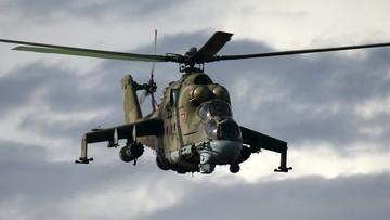 Rosyjski śmigłowiec bojowy rozbił się w Syrii. Nie żyje dwóch pilotów