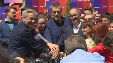 Biedroń, Czarzasty, Zandberg: idziemy do wyborów razem, jako Lewica