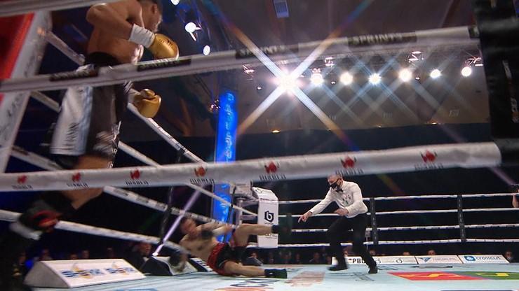 Rocky Boxing Night: Ihosvany Garcia szybko znokautował Bartłomieja Grafkę (WIDEO)