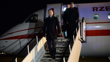 Prezydent Duda w Brukseli. Na początek spotkanie z Donaldem Tuskiem