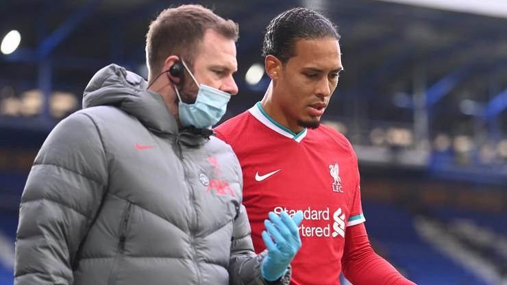 Premier League: Virgil van Dijk podda się operacji. Czeka go długa przerwa