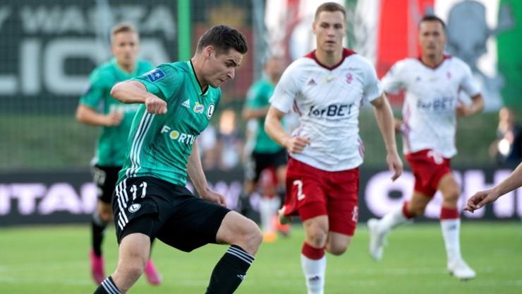 PKO Ekstraklasa: Legia Warszawa odrobiła straty i wygrała w Łodzi