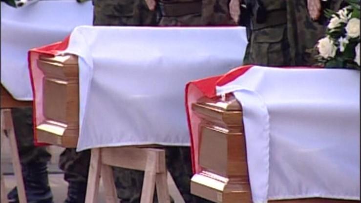 Przeprowadzono 56. ekshumację ofiary katastrofy smoleńskiej. W czwartek ostatnia w tym roku
