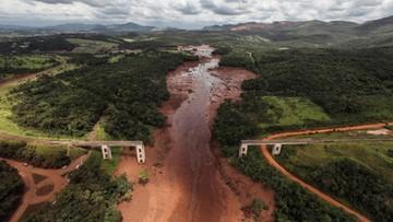 """Brazylia: około 300 zaginionych po przerwaniu tamy. """"Prawdopodobnie będziemy tylko wydobywać ciała"""""""