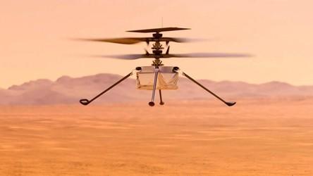 Zobacz filmy w HD wykonane podczas dwóch lotów marsjańskiego helikoptera