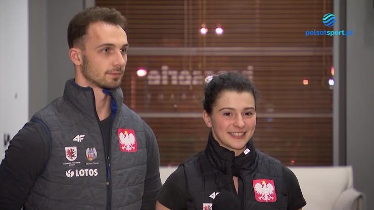 Natalia Kaliszek i Maksym Spodyriew. Polska para łyżwiarzy na igrzyska w Pekinie
