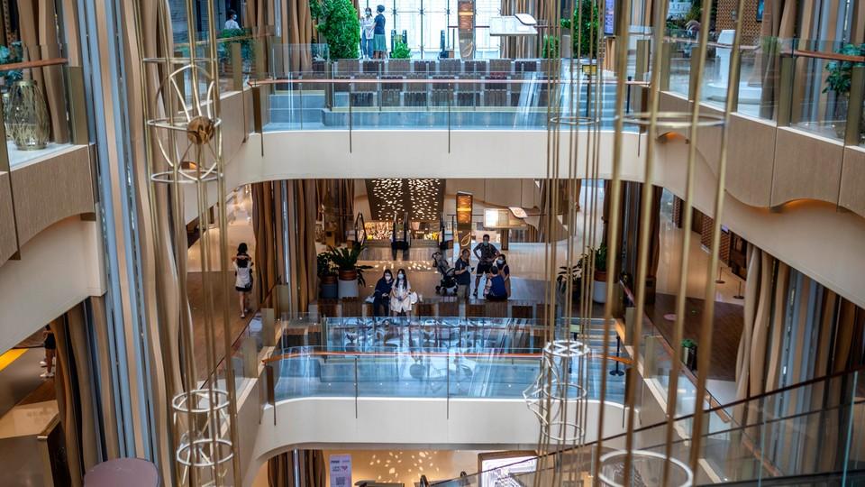 Centra handlowe wpisały się w miejsckie krajobrazy na całym świecie